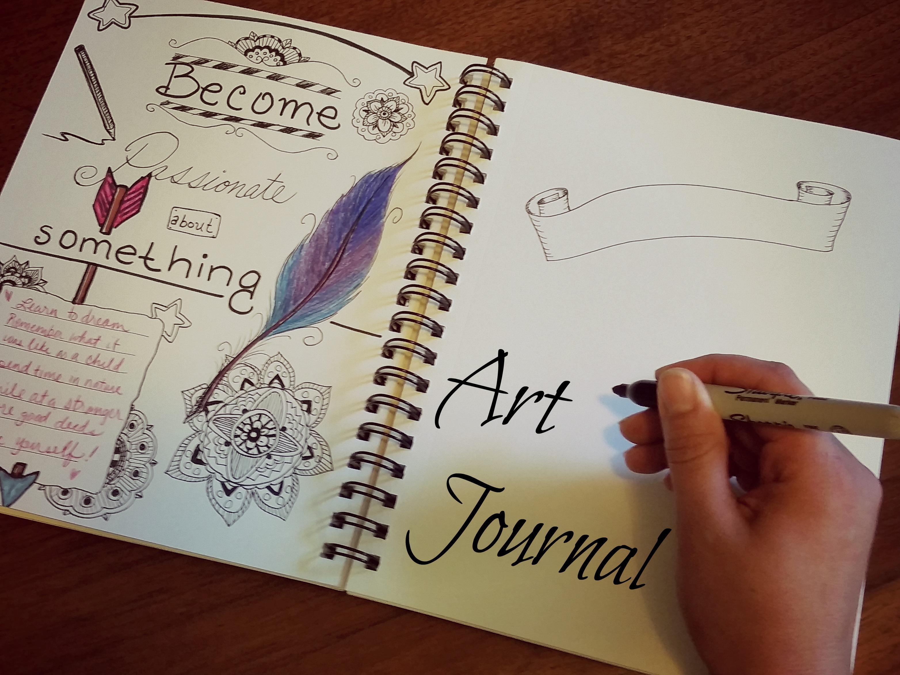art journal feature