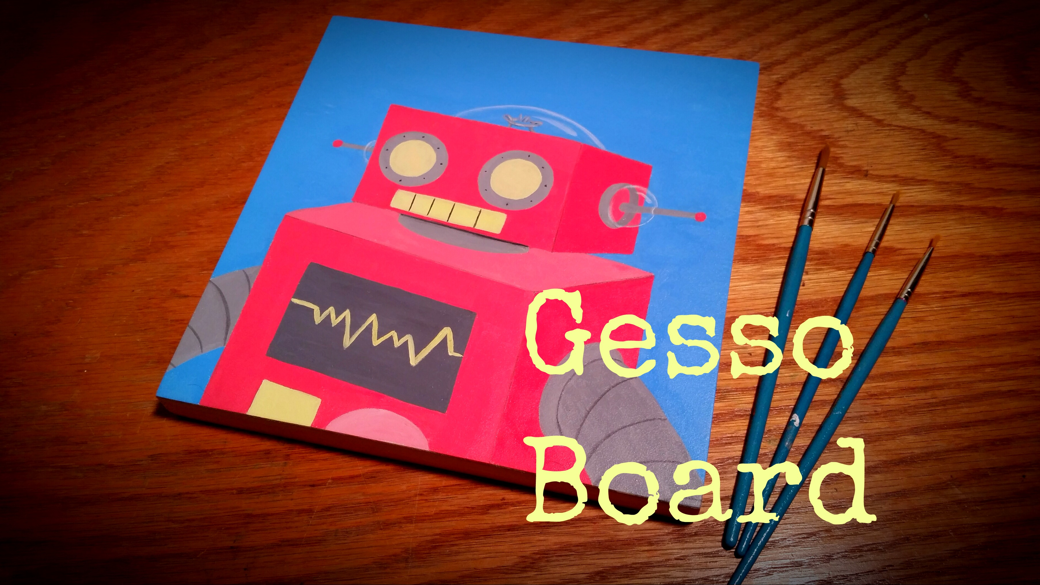 gesso board feature