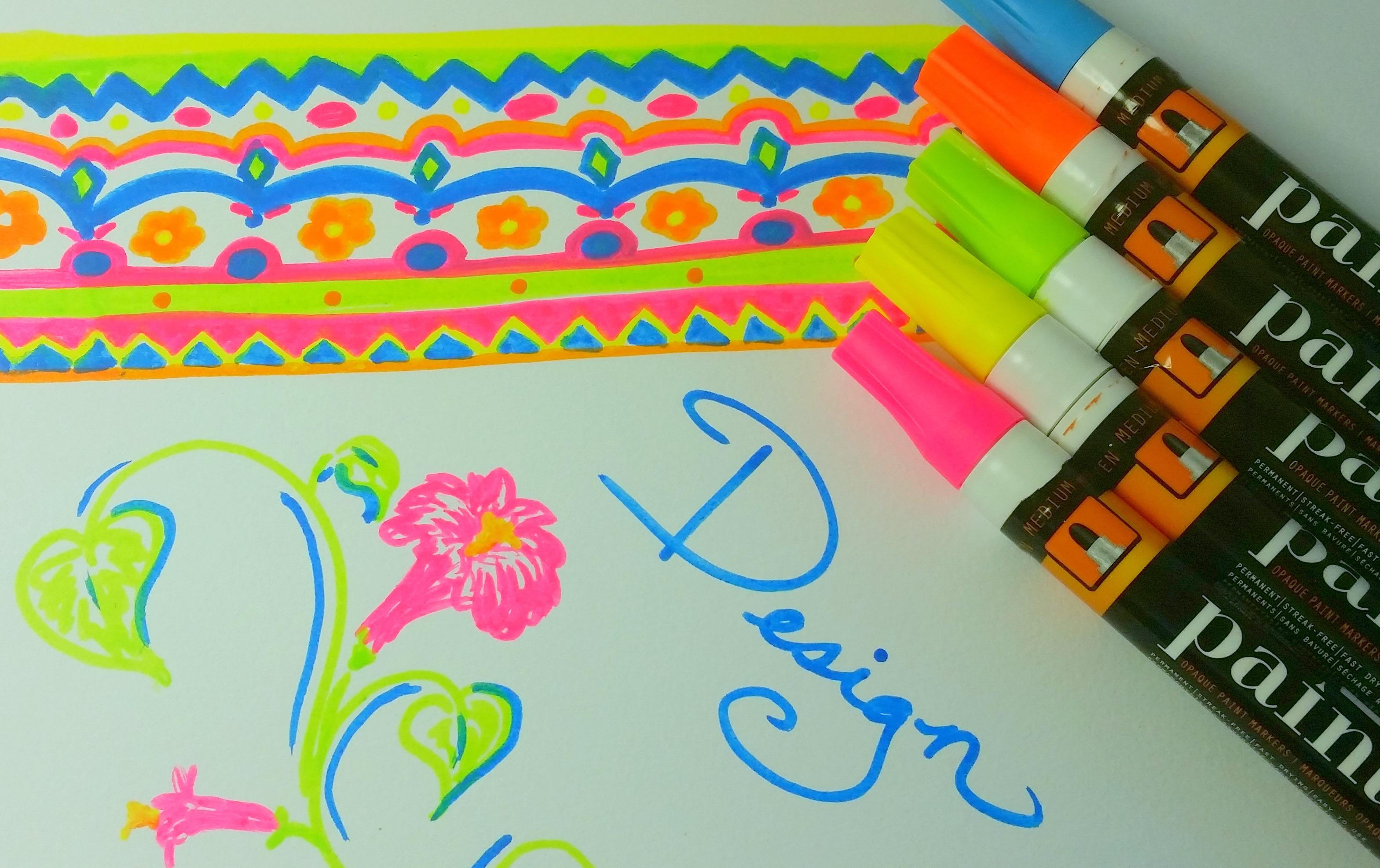 Painters Neon Paint Pens