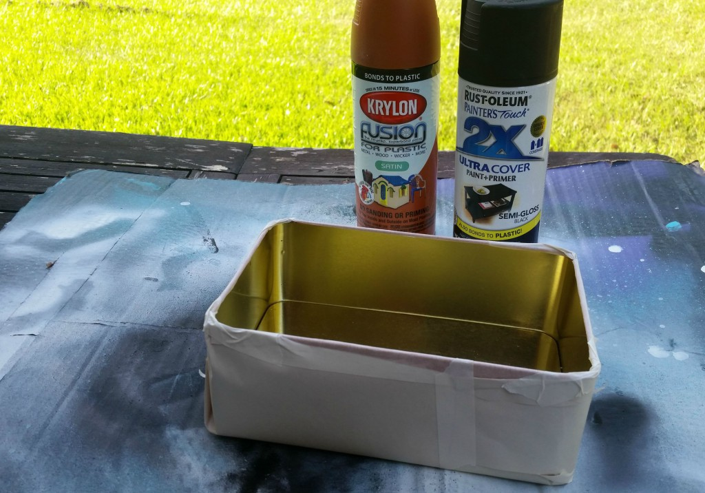 prepping your box for assemblage art